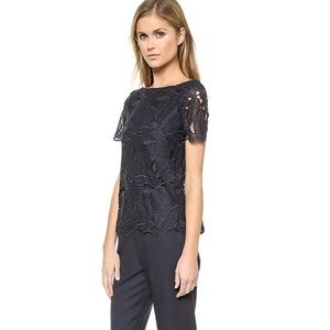 Tory Burch Avalon Jumpsuit SZ 0